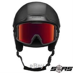 2017 Oakley Mod 5 Snow Helmets (Matte Black)