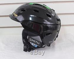 2017 Smith Womens Vantage Ski Snowboard Helmet Adult Asian Fit Small Black Pearl