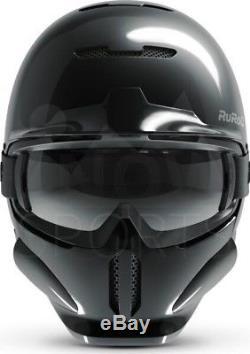 2018 NEW! Ruroc RG1-DX Onyx Ski and Snowboard Helmet M/L