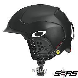 2018 Oakley Mod 5 Snow Helmet with MIPS Technology (Matte Black)