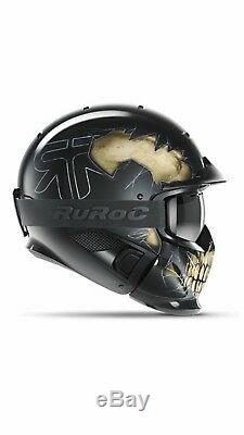 2019 NEW limited edition! Ruroc Fear RG1-DX Ski and Snowboard Helmet M/L RECCO