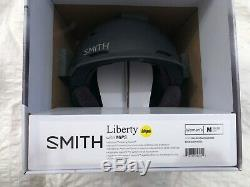 2020 Smith'Liberty' Matte Black Pearl Women's MIPS Ski Snowboard Helmet MEDIUM