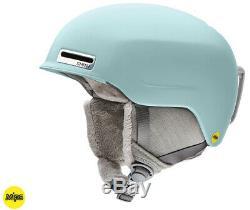 2020 Smith Optics Allure Pale Mint MIPS Women's Ski Snowboard Helmet MEDIUM
