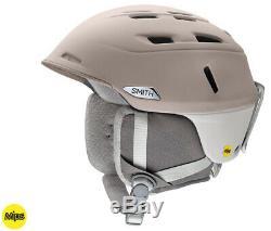 2020 Smith Optics Compass Tusk/Vapor MIPS Ski Snowboard Helmet LARGE (59-63cm)