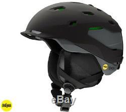 2020 Smith Optics Quantum MIPS ASIAN FIT Black Charc Snowboard Ski Helmet NEW LG