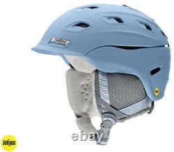 2020 Smith Optics Vantage MIPS Womens Smokey Blue Snowboard Ski Helmet NEW