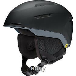 2021 Smith Optics Altus Black Charcoal MIPS Snowboard Ski Helmet NEW MEDIUM