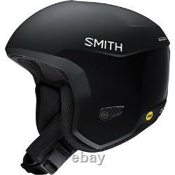 2021 Smith Optics Icon MIPS Black Snowboard Ski Helmet NEW MED 55-59cm