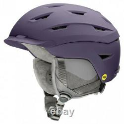 2021 Smith Optics Liberty Matte Violet Women's MIPS Ski Snowboard Helmet LARGE