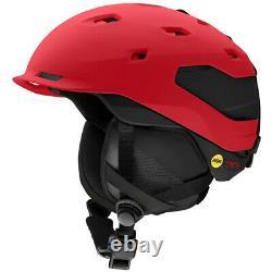 2021 Smith Optics Quantum MIPS Lava Black Snowboard Ski Helmet NEW MED 55-59cm