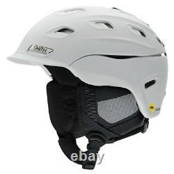 2021 Smith Optics Vantage MIPS White Snowboard Ski Helmet NEW SMALL 51-55cm