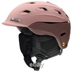 2021 Smith Optics Vantage MIPS Womens Rock Salt/Tannin Snow Ski Helmet NEW MED