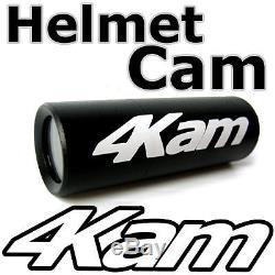 4Kam SNOW HDs Discreet HD mini helmet video head camera skiing & snowboarding