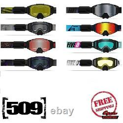 509 Sinster X6 Ignite Heated Lens Snowmobile Snowboard Ski Goggles 2020/2021