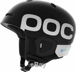 6E45 POC Auric Cut Backcountry Spin Helmet, Uranium Black, Medium/Large