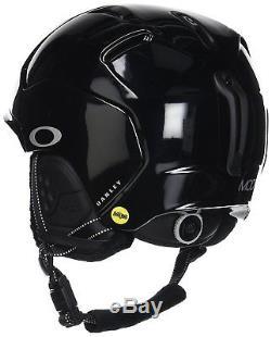 99430MP-02J New Adult Oakley Mod 5 MIPS Ski Snow Helmet Polished Black