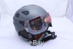 ALPINA Grap Visor HM Skihelm/Snowboardhelm + Visier Gr. 54-57 cm grey matt NEU