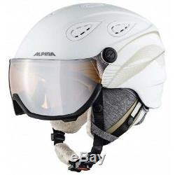 Alpina Grap Visor 2.0 Hm Wht-prosecc Matt Skihelm Snowbaordhelm 54-57cm