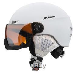 Alpina Menga Visor JV Visier Skihelm Snowboardhelm white matt