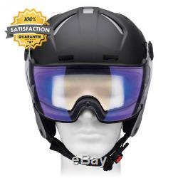 Alpina Unisex Attelas Visor VHM Ski Helmet, Unisex, Vhm