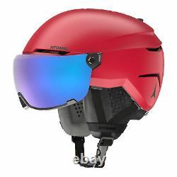 Atomic Savor Visor Stereo 20/21 Herren Skihelm Visierhelm Alpin Helmset red NEU