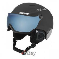 BOLLÉ B-Yond Visor Skihelm Herren Ski Helm Visier Black & Grey 18/19