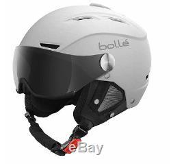 BOLLE NEW Ski/Snowboard Helmet White Backline Visor BNIB