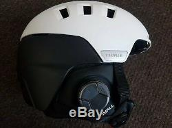 BRAND NEW white Livall Rs1 Smart ski / snowboard Helmet Size 57-61 cm