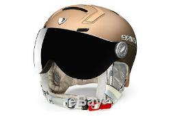 BRIKO Ambra Visor Photochromatic Ski/Snowboard Helmet Size M/L (56-58cm) BNIB