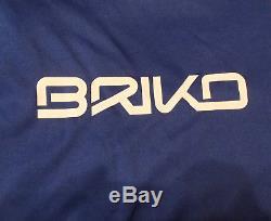 BRIKO ski VULCANO race helmet FIS 6.8 us team BLUE SKY WHITE ASH 58 cm nastar