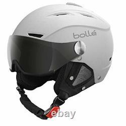 Backline Visor Soft White With 1 Silver Gun Visor + 1 Lemon Visor 56-58cm