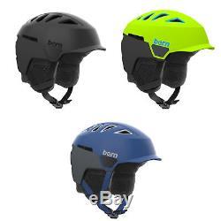 Bern Snowboard Helmet Heist Mens Brim Premium Boa Liner, Ski, 2018