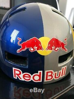 Bluegrass Super Bold RARE Red Bull Helmet. BMX, MTB, Snowboard, Ski NEW Size M