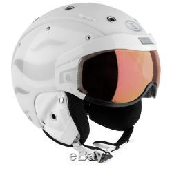 Bogner B-Visor Flames White Gr. M (54-58), weiß