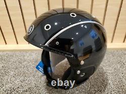 Bogner Ski Helmet Pure Black Medium (56-58cm)