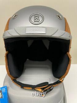 Bogner Skihelm Bamboo silver Gr. S neu UVP 599