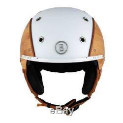 Bogner Skihelm Helmet Bamboo Bambus/Weiss Gr. M