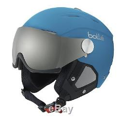 Boll Backline Visor Ski Helmets Soft Blue/silver 56-58 cm