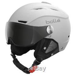 Bolle 21267 Backline Visor Soft White Ski Helmet with Silver Gun Visor 54-56cm