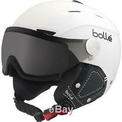 Bolle Backline Visor Helmet Soft Black & White photochromic Silver S