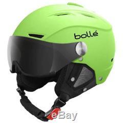 Bollé Backline Visor Skihelm soft green inkl. Wechselvisier Gr. L (59-61cm)