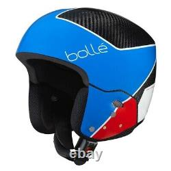 Bolle Medalist Carbon Pro Race Skihelm blau