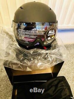 Bolle Snow Helmet Backline Visor Premium Modulator Size Large