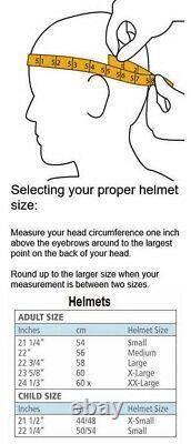 Briko 2020 Vulcano Black FIS 6.8 FISI Helmet NEW! Size 54