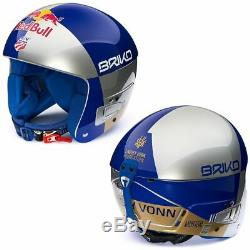 Briko Vulcano FIS 6.8 Junior Red Bull Ski Helmet LVF