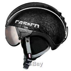CASCO SP-2 Visier schwarz Skihelm Größe 55-57 cm/ S-M SP2 Visier 19.07.3702. M