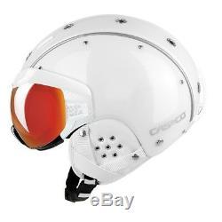 CASCO SP-6 Visier Skihelm Snowboard Vautron weiss S / 52-54cm 2020 07.2567. S
