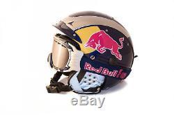 Casco RedBull Skihelm Sp-5 + Casco AX-60 Skibrille Gr. S Red Bull