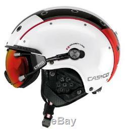 Casco SP 3 Comp. Farbe weiß rot schwarz Größe M (56 58 cm)