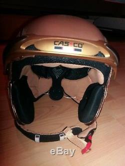 Casco SP3 limited edition ski snowboard Helm, Leder bezogen, neu